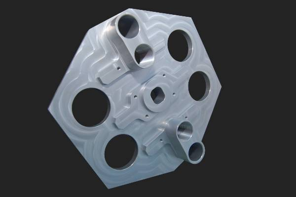 fraisage plaque fixe aluminium 6082